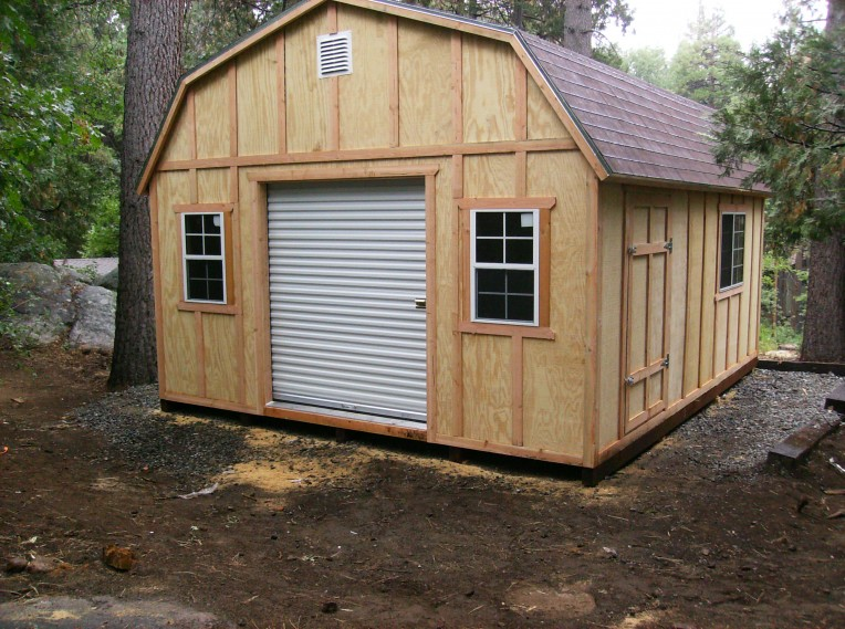 custom built storage buildings roof and siding to match your home built on site no tearing down fences no trucks driving through your yard